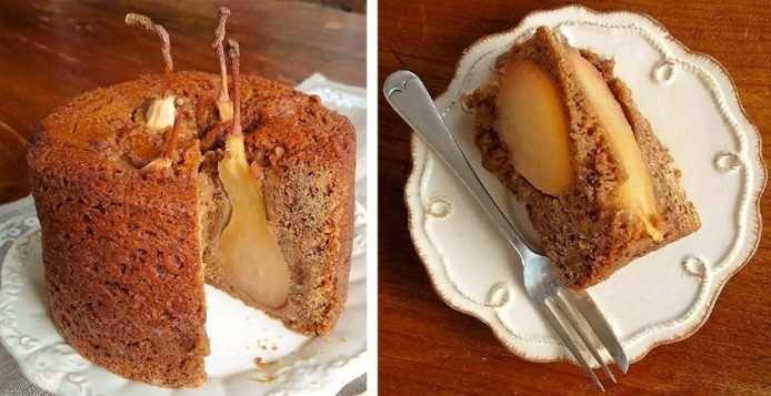 Pear_gingerbread_cake_whole_with_slice