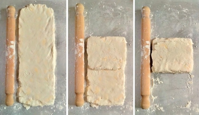Gluten_free_rough_puff_pastry_rolling_and_folding_the_dough