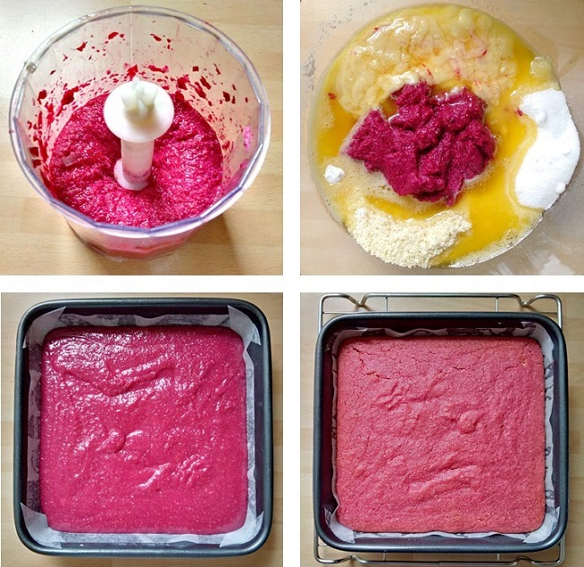 Steps_to_making_beetrootnd_raspberry_blondies