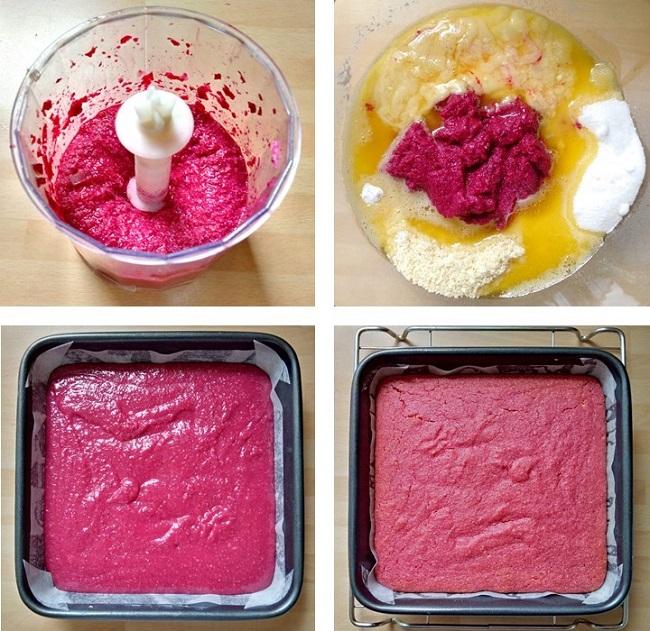 Steps_to_making_beetrootnd_raspberry_blondies