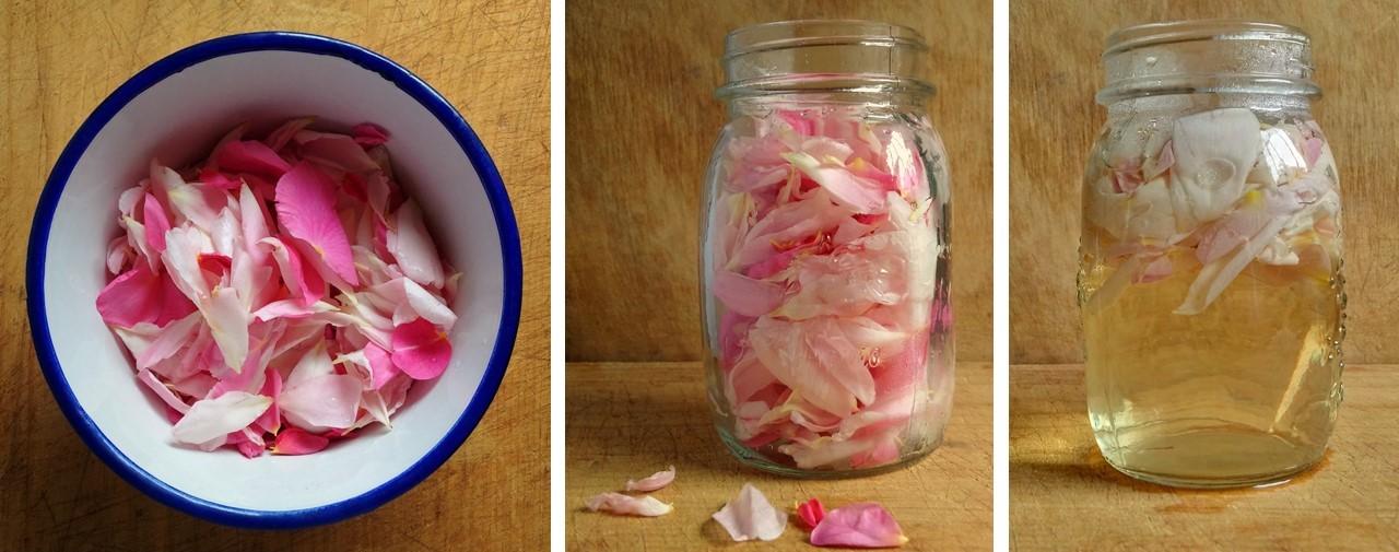 Homemade_rosewater_preparation