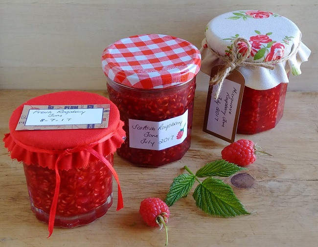 3_jars_homemade_raspberry_jam