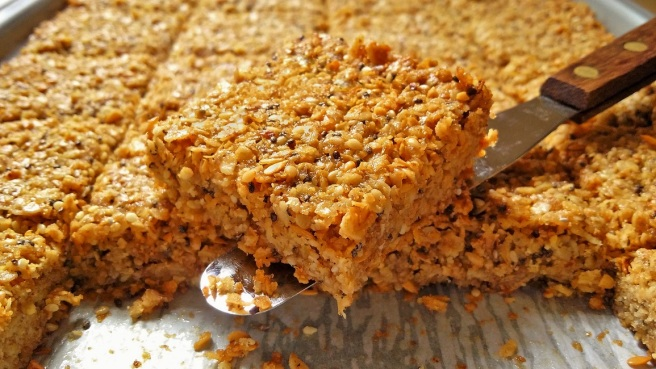 A_slice_of_freshly_baked_super-seed_flapjack