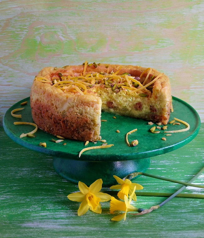 Baked_lemon_and_pistachio_cheesecake_dairy-free_and_vegan