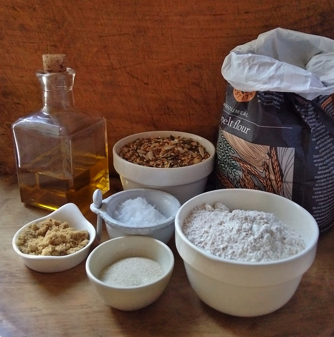 All_ the_ingredients_for_a_seeded_spelt_flour_loaf