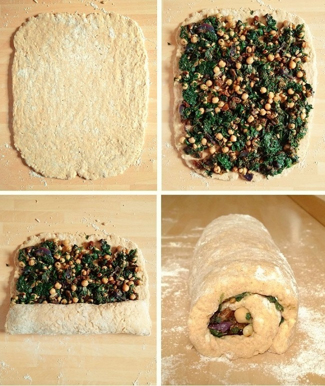 Suet_crust_pastry_rolled_out_filled_and_rolled_up