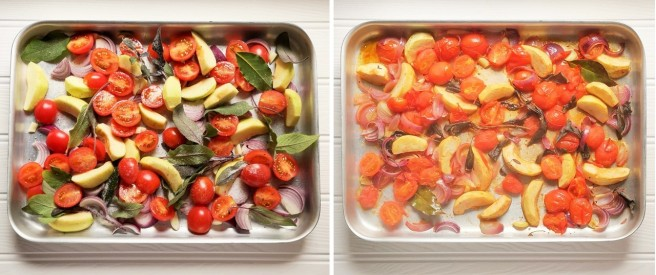 Baking_tray_of prepared_tomatoes_and_apples_with_sage_and_onion