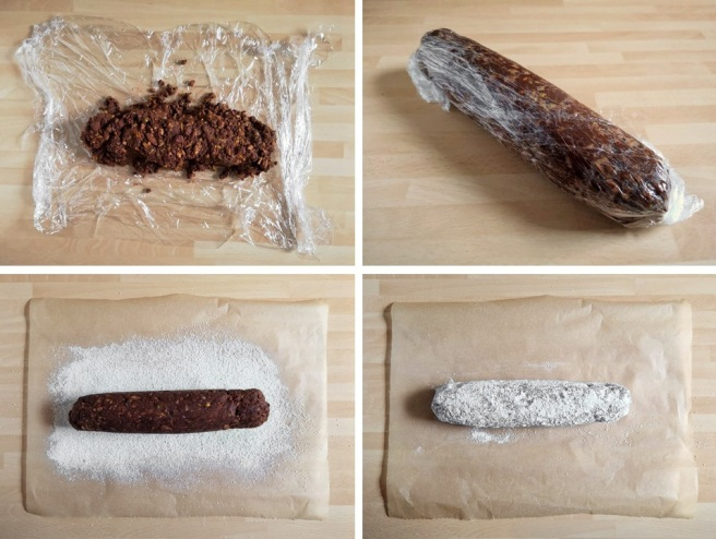 Steps_t0_shaping_chocolate_salami
