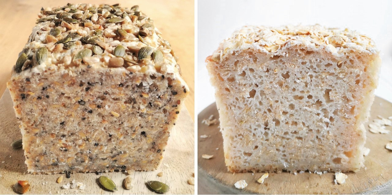 Sliced_seeded_gluten-free_loaf_and_plain_white_loaf
