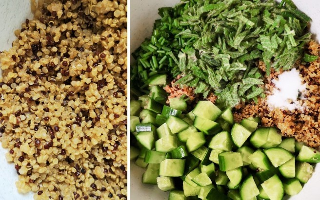 Cooked_quinoa_alongside_the_other_ingredients_for_tabbouleh_salad