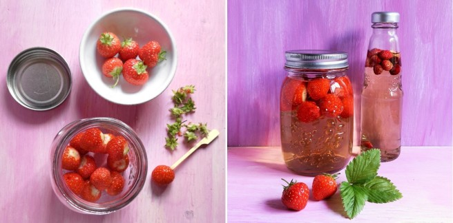 Preparing_strawberries_for_vinegar_making