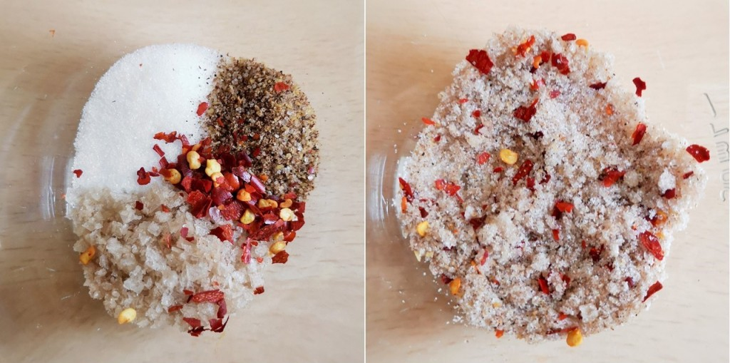 Ingredients_for_sweet_and_chilli_salt_mix