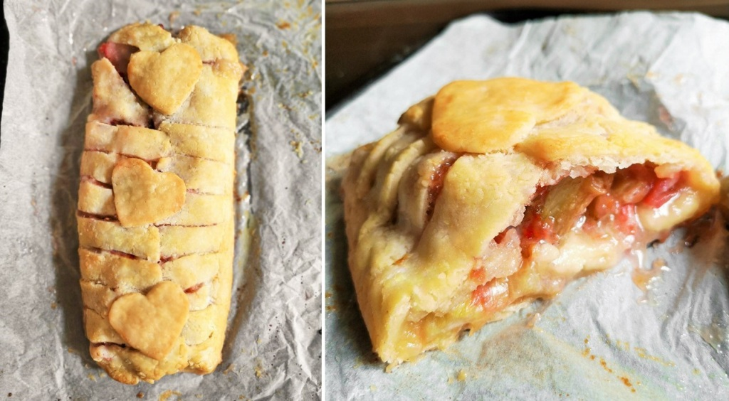 Freshly_baked_and_cut_rhubarb_and_marzipan_plait