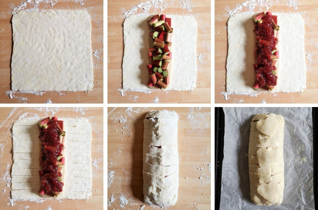 6_step_images_to_making_rhubarb_and_marzipan_plait