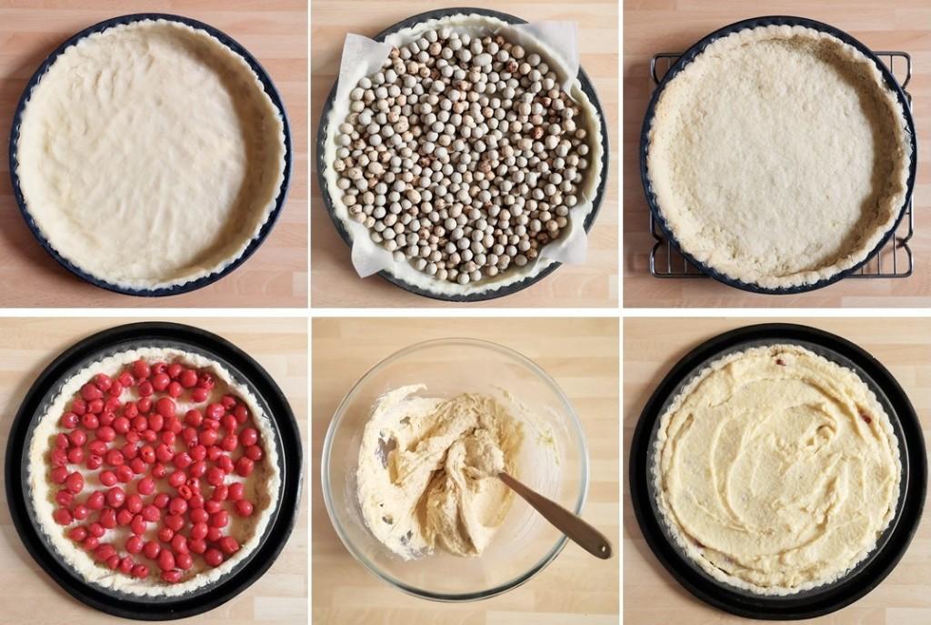 6_steps_to_preparing_Cherry_Bakewell_tart