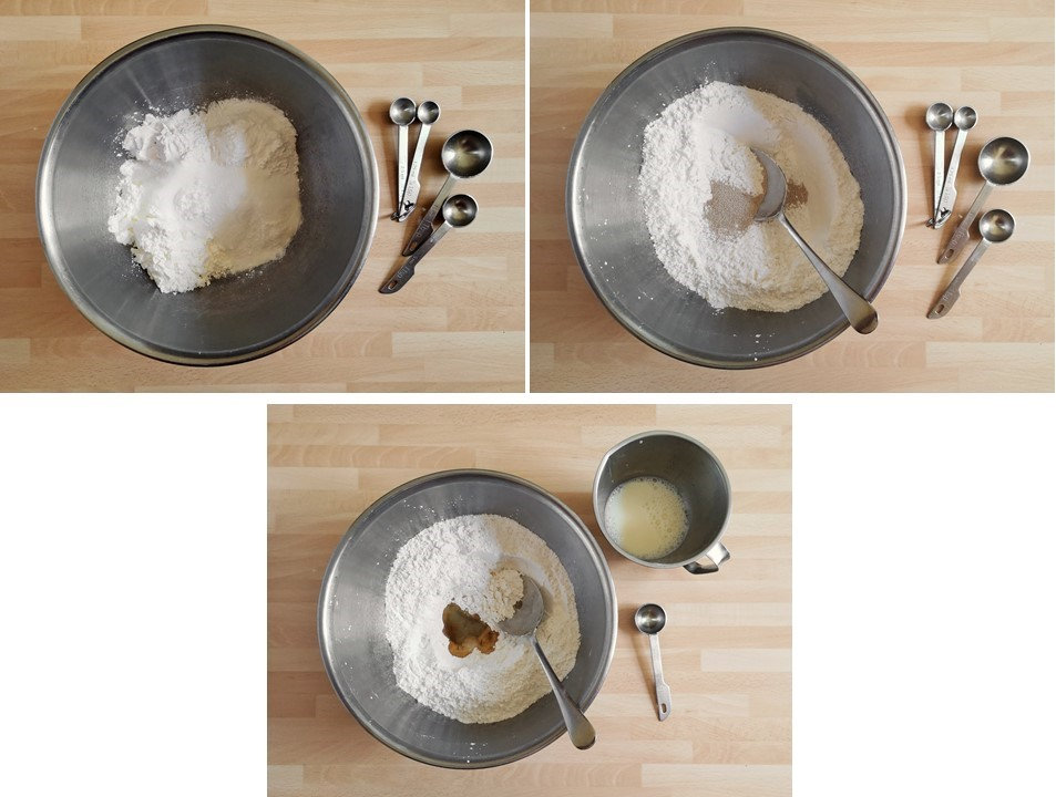 3_steps_showing_the_ingredients_for_gluten_free_steamed_sesame_buns